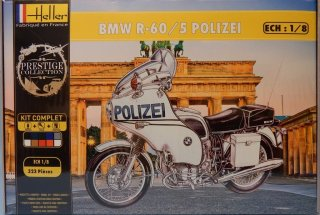 Heller 1/8 motorcycle kit BMW R-60/5 Polizei Germany